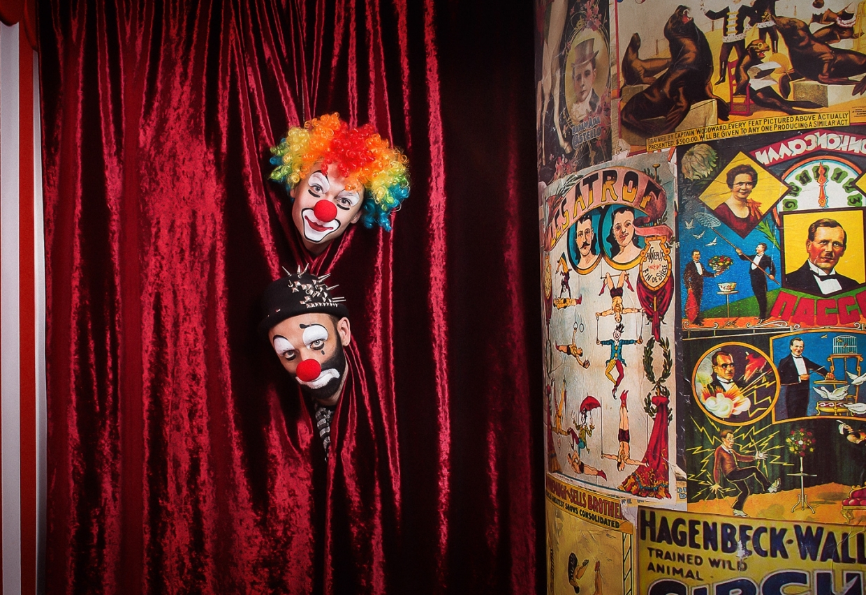 Escape Game Circus Secrets, Claustrophobia . Moscow.