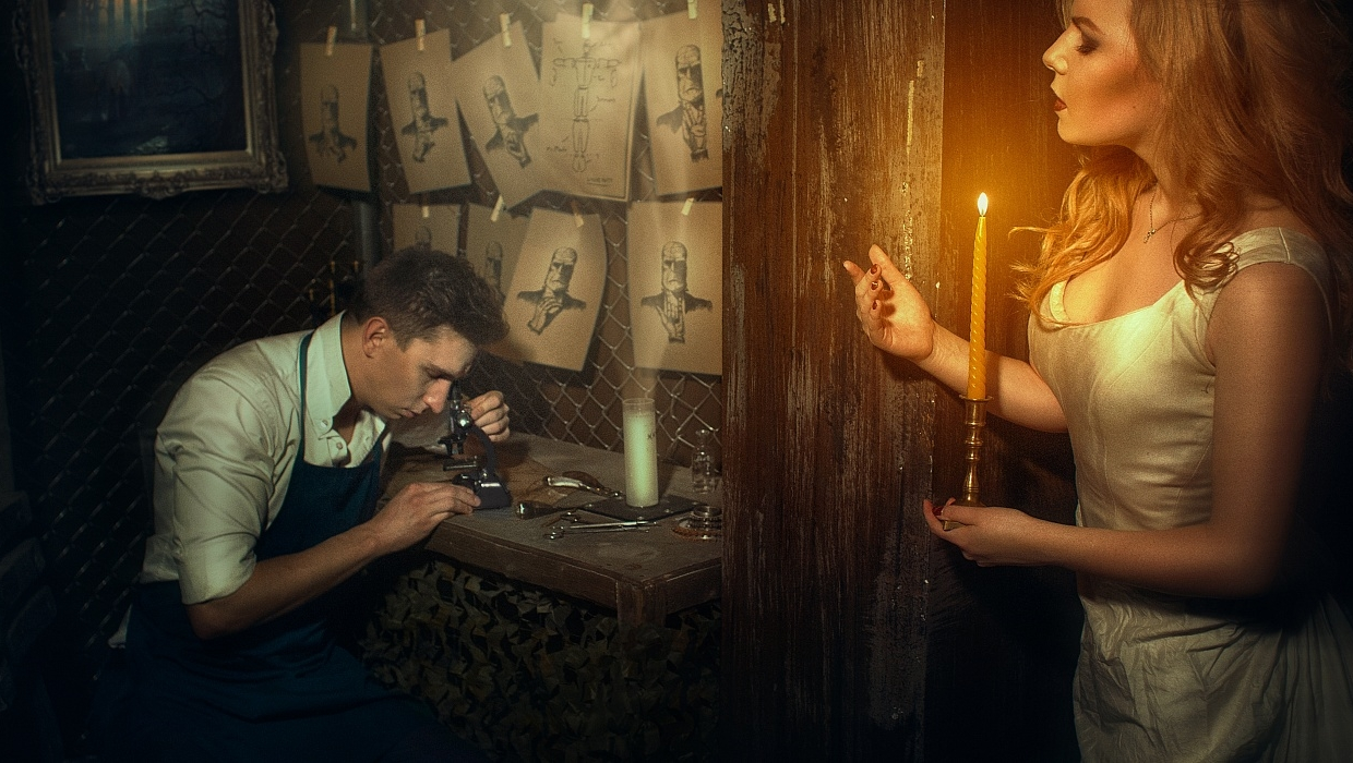 Escape Game Frankenstein, Rabbit Hole. Moscow.