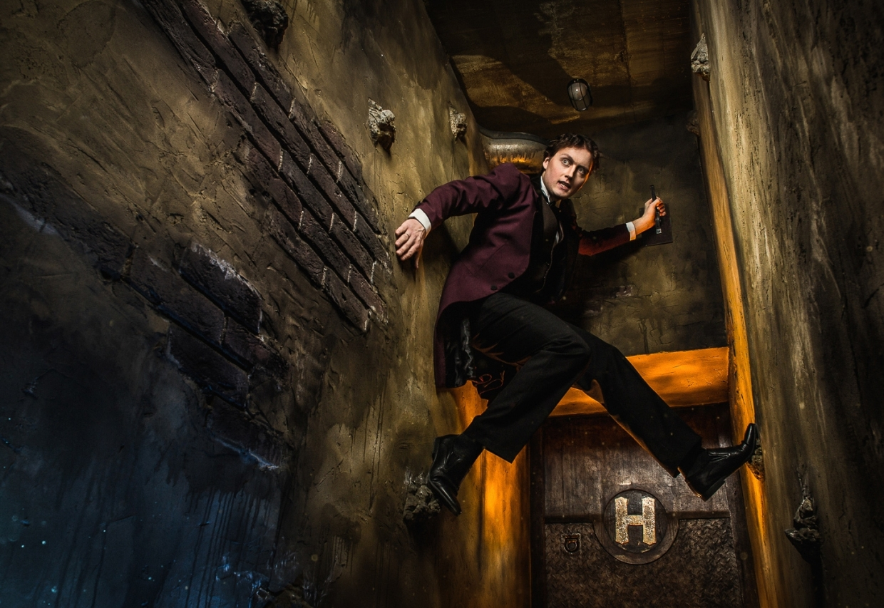 "Escape Game Houdini""s Academy, Claustrophobia . Moscow."