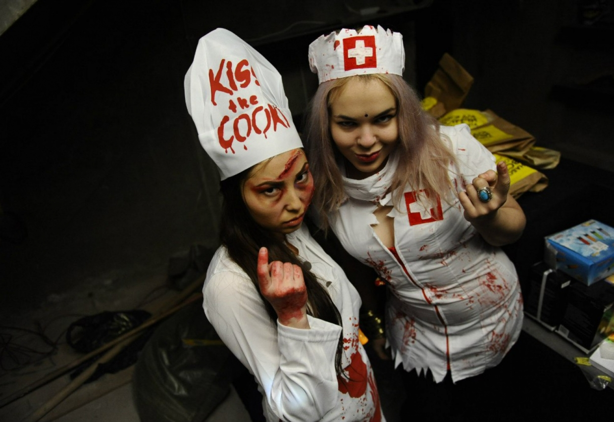 Escape Game Maze of Fear, Big Funny. Moscow.