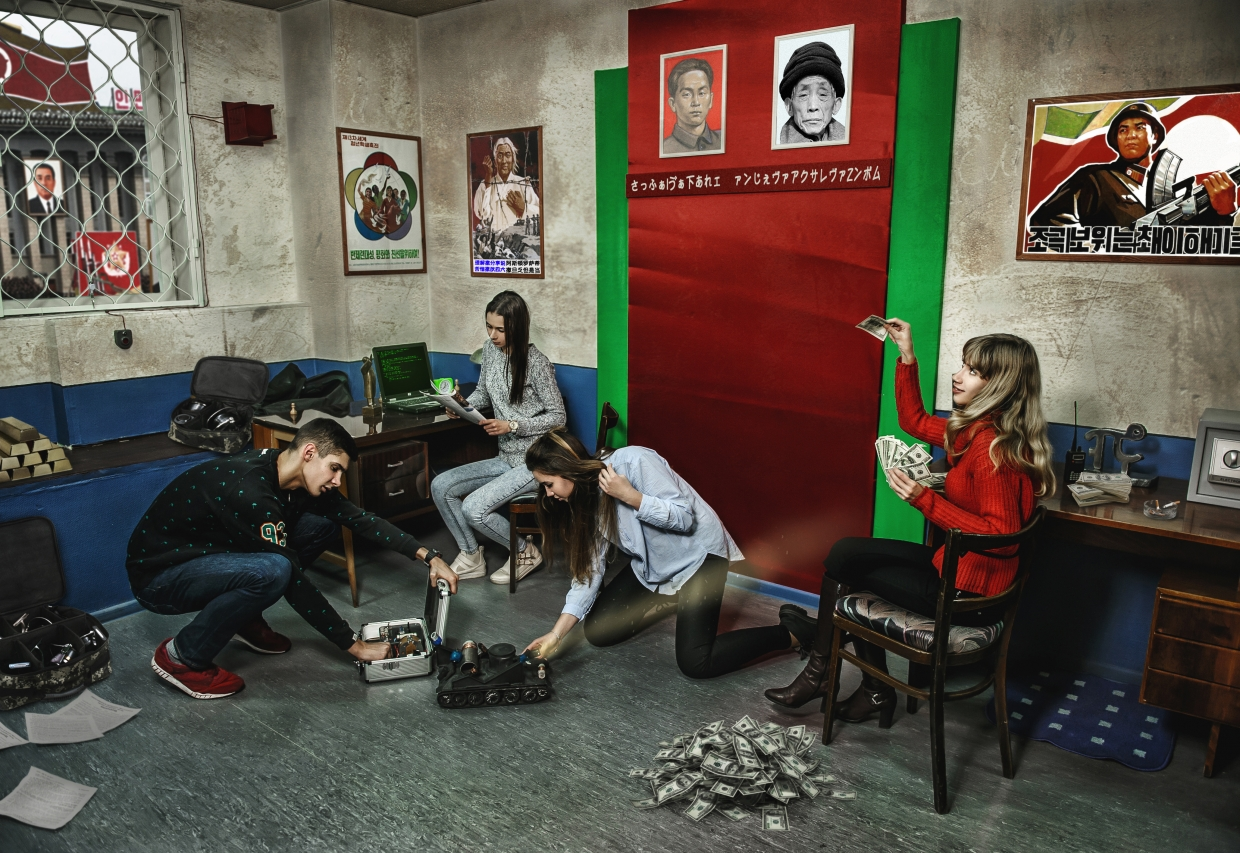 Escape Game Spy Story: Escape from the Embassy, IndieQuest. Moscow.