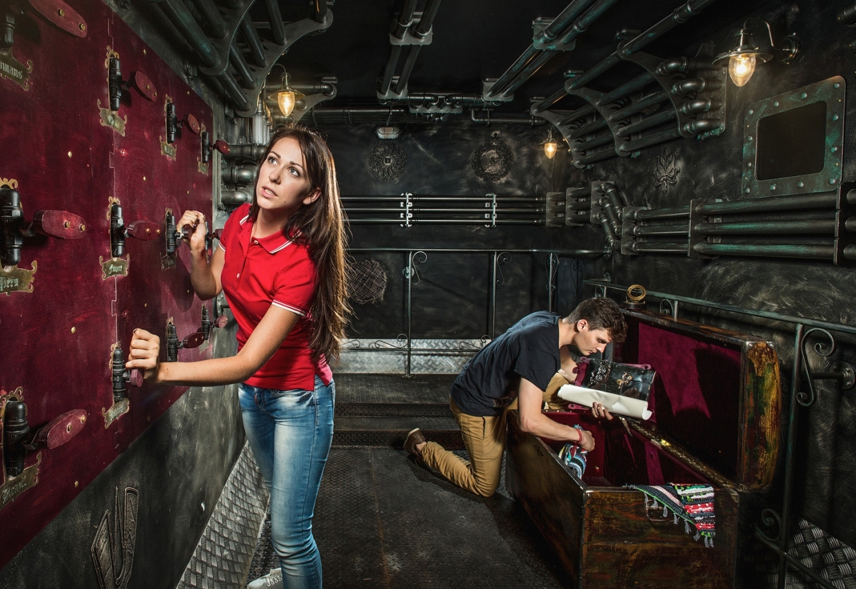 Escape Game Submarine, Claustrophobia . Moscow.